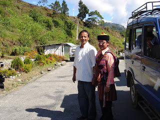Our Bhutia driver with his Lepcha friend