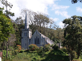 A church at Grahams home, Kalimpong
